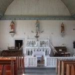 Church interior, Oblate mission