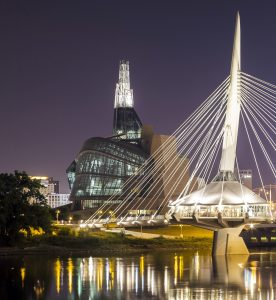 Musee_canadien_droits_personne-276x300 -  - Winnipeg's Esplanade Riel: A magnificent bridge connecting people and cultures