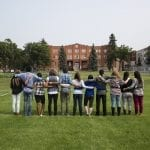Students at Campus Saint-Jean