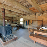 A 360° panorama of a Historical Acadian Village home